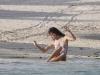 Alessandra Ambrosio - Bikini photo shoot in St. Barthelemy
