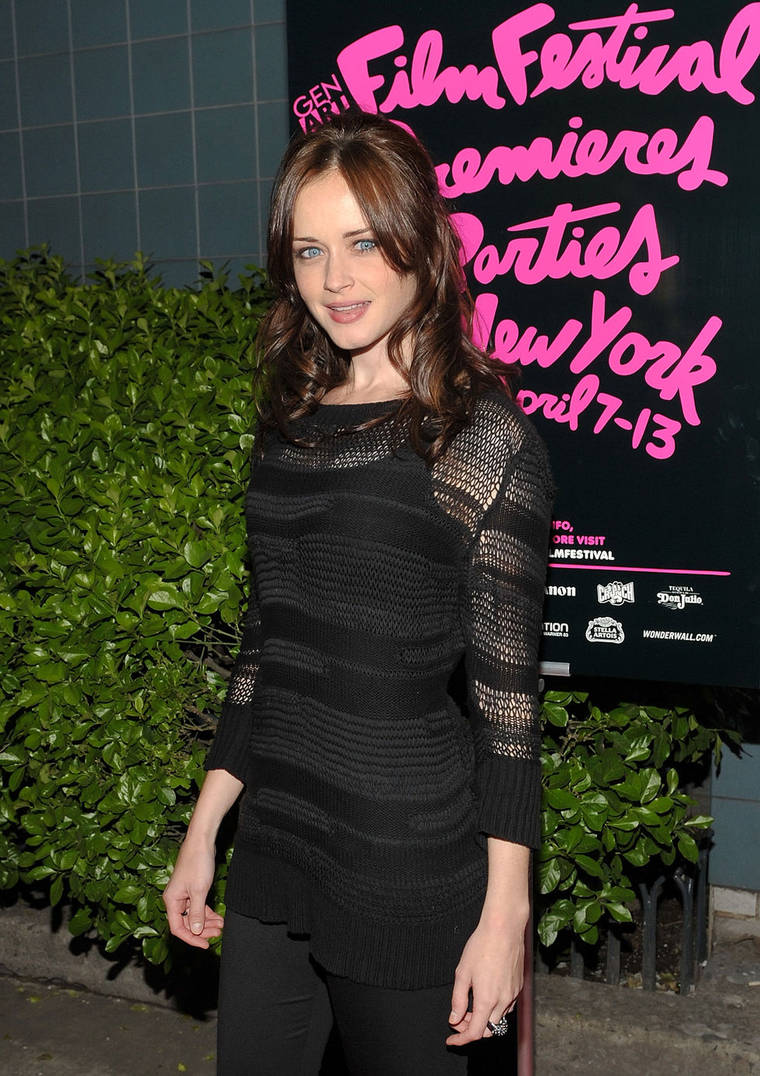 Alexis Bledel at Gen Art Film Festival Screening Of 'Elektra Luxx' in NYC