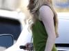 Amanda Seyfried in leggings out walking in Los Angeles