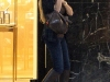 Anna Kournikova in Jeans Shopping in Miami