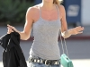 AnnaLynne McCord cleavage in tight shirt and jeans out on street