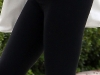 Ashley Tisdale - Candids in leggings outside her home in Toluca Lake