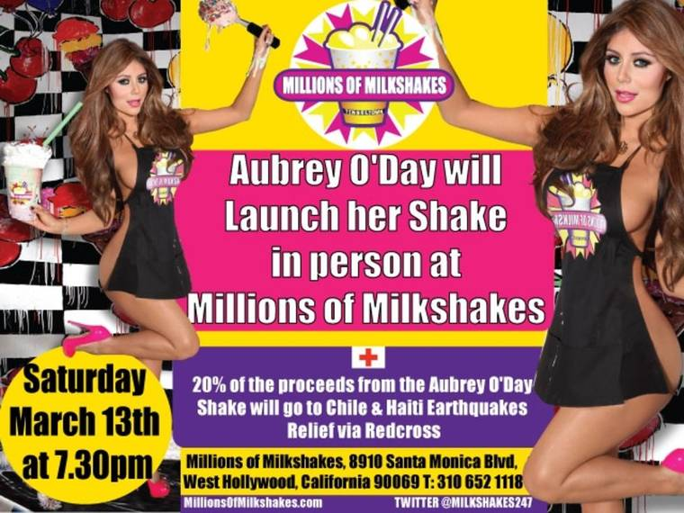 Aubrey O'Day - Millions of Milkshakes Promo