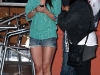Audrina Patridge in Shorts Filming The Hills