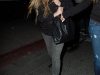 Avril Lavigne at Beso Restaurant in West Hollywood