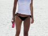 Belen Rodriguez in bikini at Miami