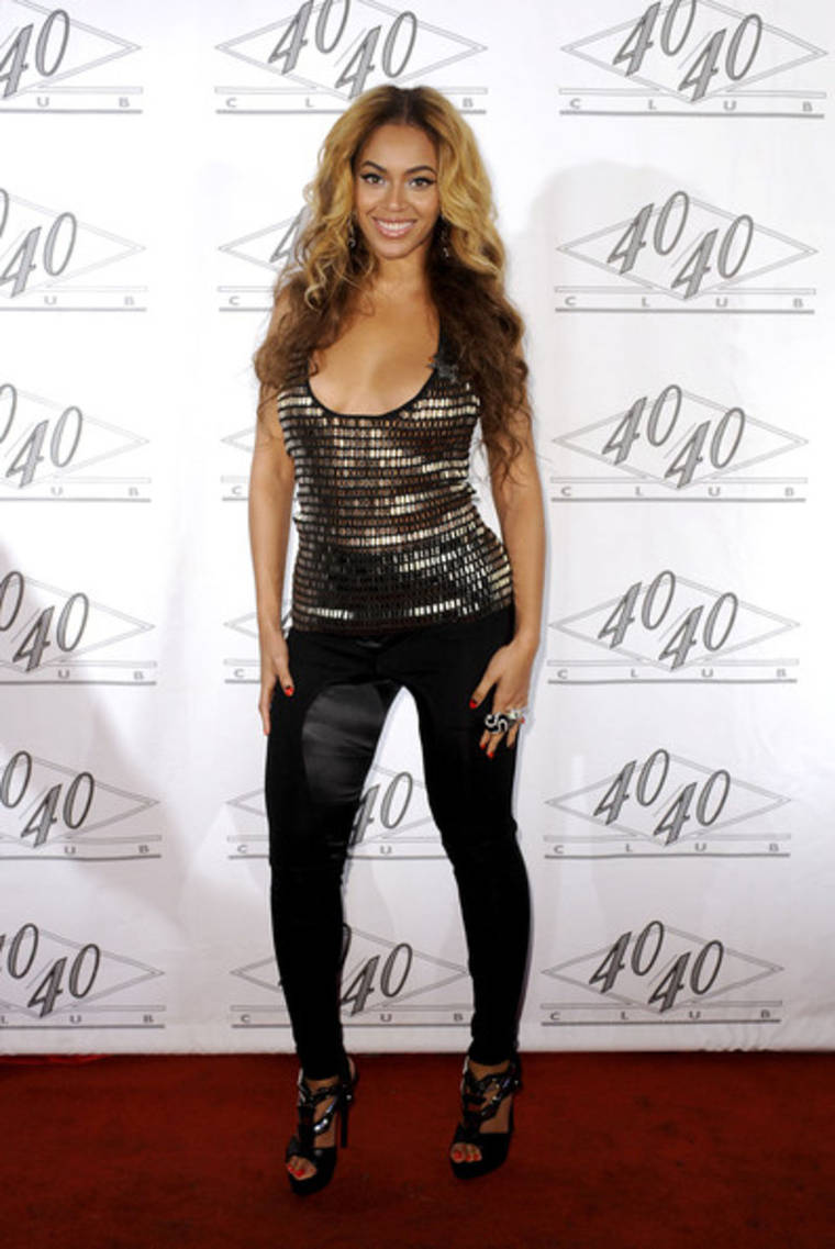 Beyonce Knowles at Jay-Z's Concert after Party