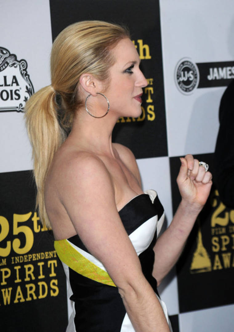 Brittany Snow at the 25th Film Independent Spirit Awards