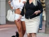 Brooke Hogan in shorts out in Miami