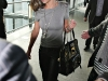 Cheryl Tweedy Cole at Heathrow Airport in Londodn