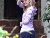 Dakota Fanning visit stylist in Los Angeles