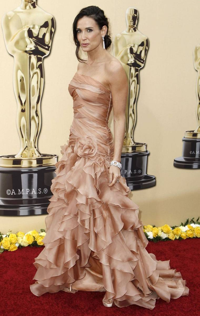 Demi Moore at 82nd Annual Academy Awards