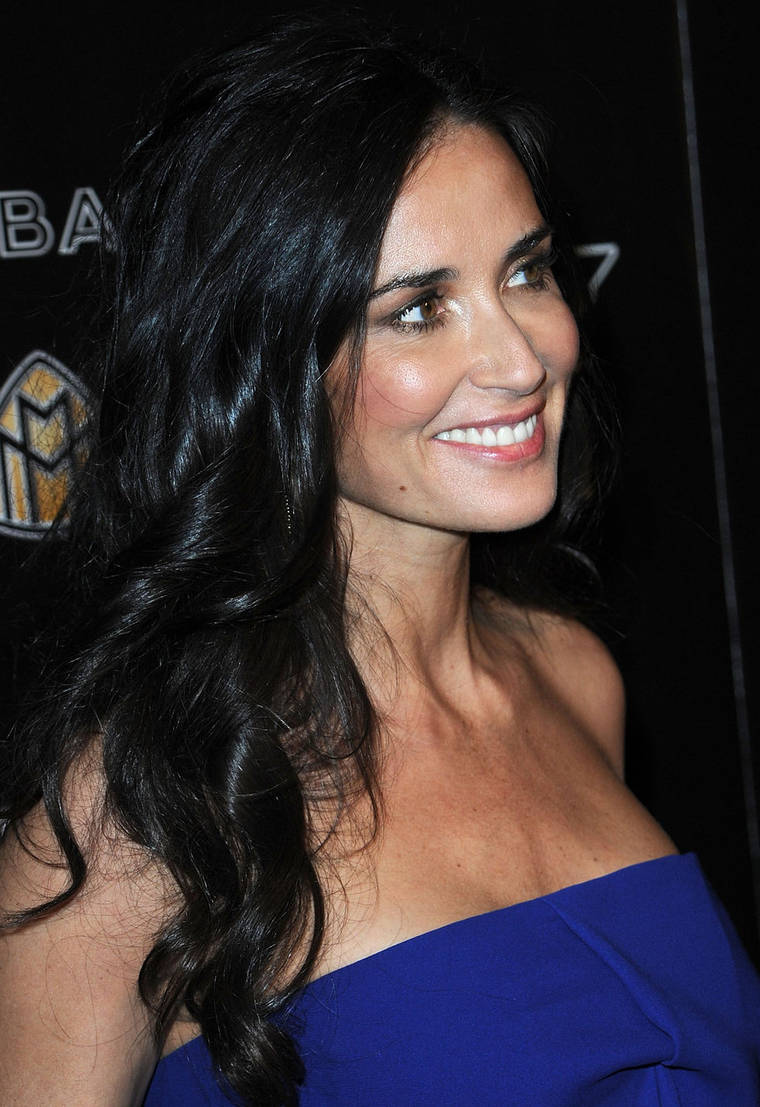 Demi Moore at Hollywood Domino's 3rd Annual Pre-Oscar Party