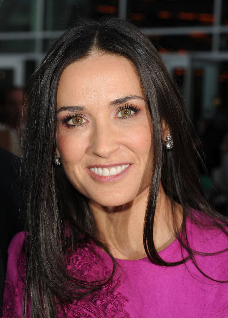 Demi Moore at the Premiere of The Joneses