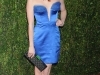 Emma Roberts at Vanity Fair Oscar Party