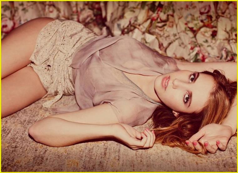 Emma Roberts sexy Women's Wear Daily 2010 photoshoot LQ
