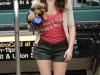 Emmy Rossum leggy candids in shorts