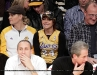 Hayden Panettiere at the Lakers game in LA