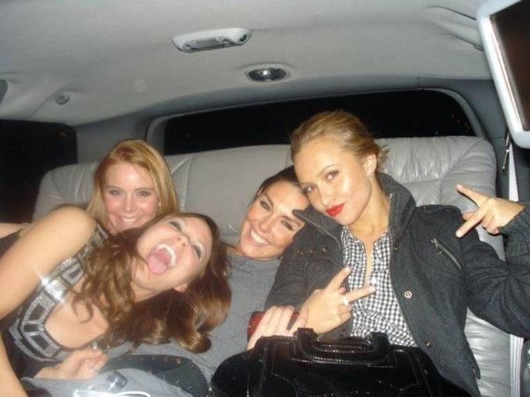 Hayden Panettiere Partying Girl