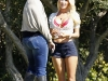 """Heidi Montag  On """"Just Go With It"""" set in Malibu"""