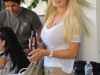Heidi Montag on The Hills set