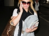 Hilary Duff at LAX Airport