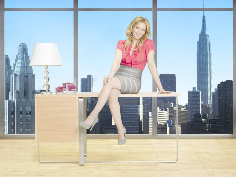 Hilary Duff - Beauty & the Briefcase Promo pics