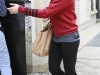 Hilary Duff Heading to the gym in Hollywood