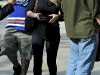 Hilary Duff Thight Jeans at Kings vs Oilers Hockey Game in LA