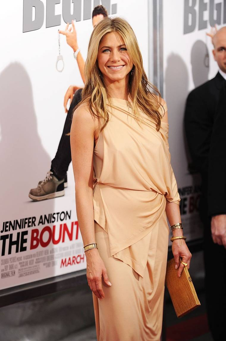 Jennifer Aniston at The Bounty Hunter Premiere in New York
