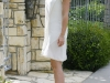 Jennifer Love Hewitt leggy in a white dress for Easter