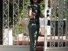 Jennifer Love Hewitt with new hairdo at Brentwood