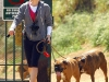 Jessica Biel out walking the dogs in Runyon Canyon