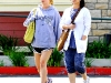 Jessica Simpson - Candids at Chili's Restaurant in Encino
