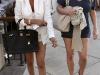 Jessica Simpson in Shorts in Century City