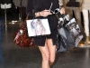 Jessica Stroup shopping at Armani Store on Roberts Blvd