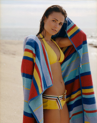 Jordana Brewster in Beach Photoshoot