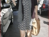 Katie Holmes in a short dress in Beverly Hils
