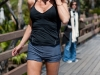 Kelly Bensimon out jogging in Miami