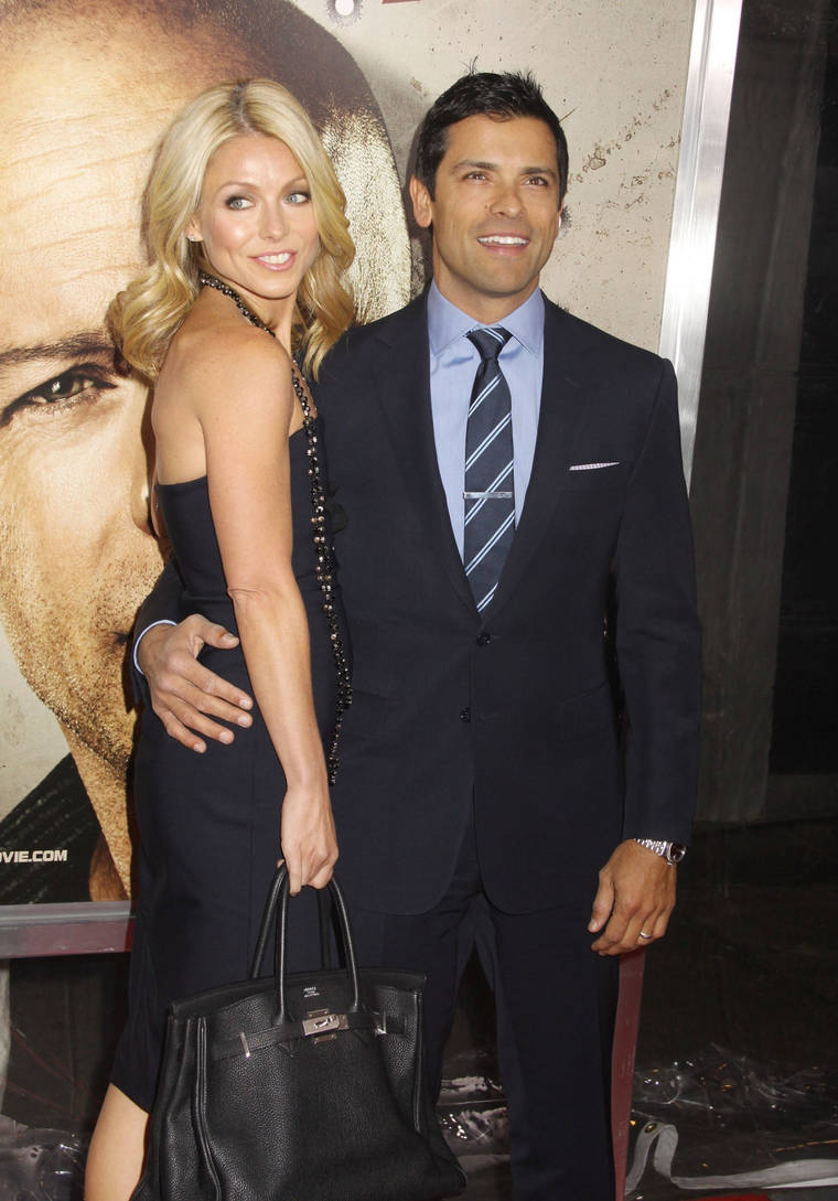 Kelly Ripa at Premiere of Cop Out in NY