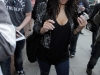 Kim Kardashian at Nail Salon in Los Angeles