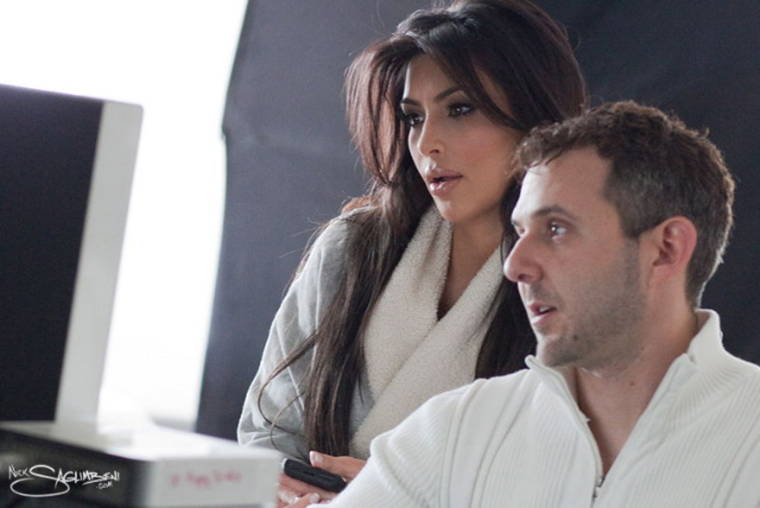 Kim Kardashian - Behind the Scenes of making 2011 Calendar