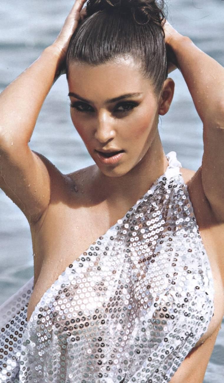 Kim Kardashian in Aussie FHM, April 2010 Issue