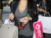 Kim Kardashian shopping in West Hollywood