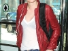 Kristen Stewart at LaGuardia airport in NYC