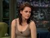 Kristen Stewart at Late Night with Jimmy Fallon
