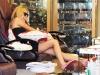 Kristin Cavallari  At a nail salon in Los Angeles