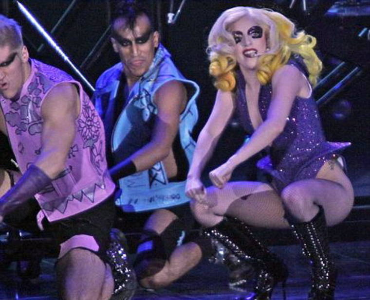 Lady GaGa - Concert Pic's from Liverpool