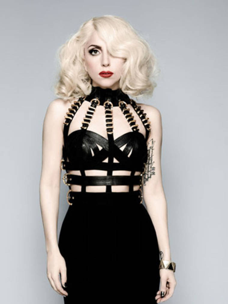 Lady Gaga - Cosmopolitan Photoshoot Outtakes