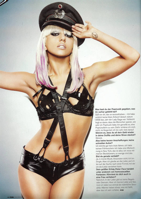 Lady Gaga - FHM Germany - April 2010